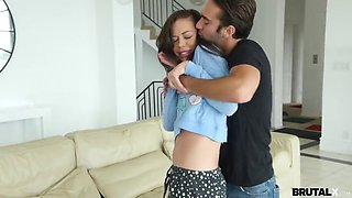 Brutal X - Stepsister fucked for a cig
