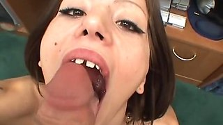 Fabulous pornstar in amazing facial, swallow sex movie