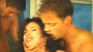 Rocco and his friends arrange dirty orgy with Prague whores