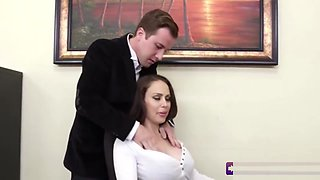 Pleasuring The Boss With A Massage