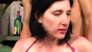 Drunk German Milf