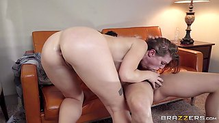 She loves getting her ass stretched while banging