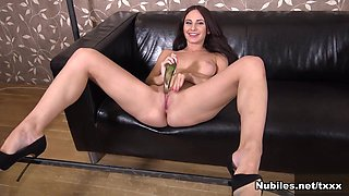 Lana Ray in Glass Toy Play - Nubiles