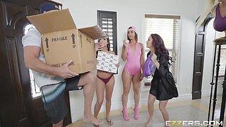 Brazzers House 2 Day 2 Ft Romi Rain,Alexis Fawx,Keisha Grey, Kelsi Monroe