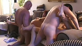 Group Sex Orgy With Two Hot Preggos