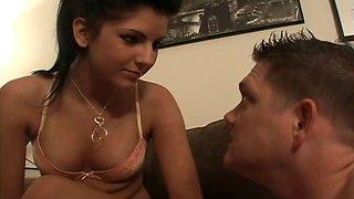Mistress Christina - My boyfriend cums in my mouth
