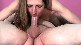 pov deep throat with a slutty milf
