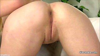 alex blake insert dildo on her pussy