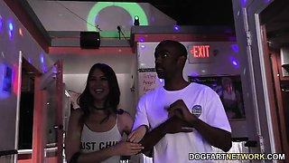 Riley Reid Interracial Gloryhole
