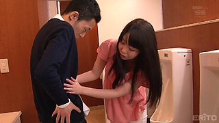 All that Aika wants to do right now is to please her man's cock