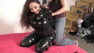 Girl bondage