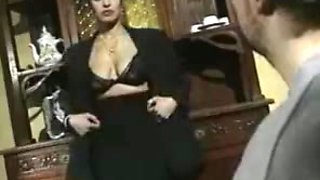 Vintage French Arab Dalila Saggy Tits DP BJ