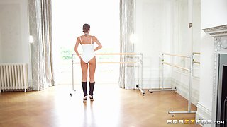 Gorgeous dancer Clea Gaultier seduced for a sex session