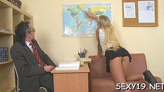 tricky teacher seducing student amateur segment 6