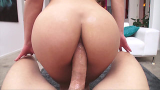Anal fuck for a hot slut