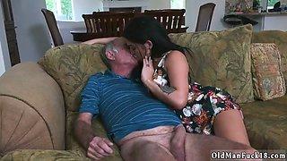 Daddy discipline Frannkies a rapid learner