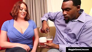 Full figured hotness maggie green is wrecked by rome major!
