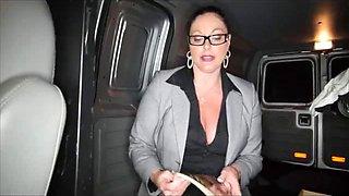 Aunt Sucks not nephew's Cock In The Car