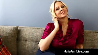 milf professor ms. julia ann teaches you masturbation 101!