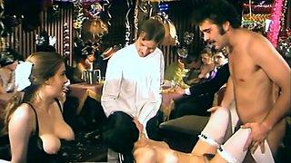 Kinky German MILF Josefine Mutzenbacher has fun at kinky swingers party
