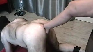 Anales fuss fisting mit ass footfisting