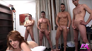 A cuckold, his wife and 5 bastards