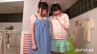 rina hatsume and arisa nakano squirt