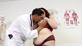 alexa grey bbw gets fucked by the doctor