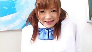 Lovely Japanese coed discover a big vibro