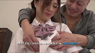 Japanese girl fucks in rough manners Maki Horiguchi  - More at javhd.net