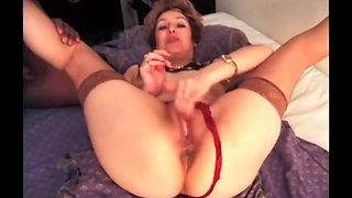 French MILF anal, BBC