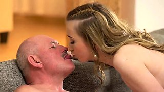Old couple fuck young and sexy dad Russian Language Power