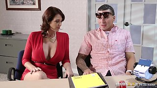 Two busty sluts Charlee Chase and Eva Karera get fucked by Clover