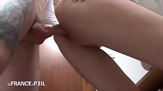 Blonde Secretary Abused At Work