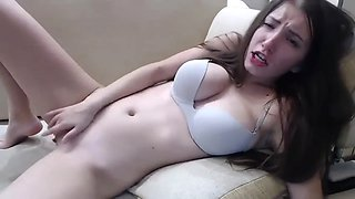 Sex freak is having fun on webcam