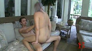 nerdy brother fucks sexy virgin sister an grandma catches them