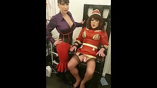 Clit reduction through Madame C's electric chair
