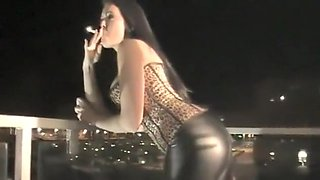 Fabulous homemade Smoking, Brunette sex movie