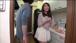 Japanese Mom Seduces the Boys