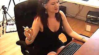Webcam bean flicking - XXXMina