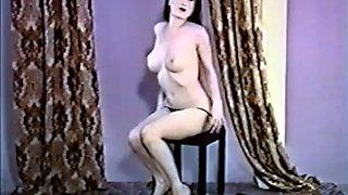 Strip teese retro glamour beauty striptease