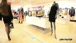 Mom Shopping Heels Buttplug. See pt2 at goddesheelsonline