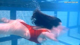 Ivetta having fun in the pool and makes you wanna watch her