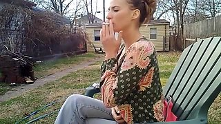 Incredible amateur Softcore, Outdoor porn scene