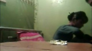 Desi Guy Enjoying With Mom And Daughter
