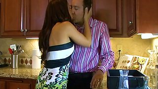 Sex-hungry housewife Ann Marie Rios is cheating on her husband