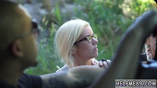 Hard bondage tied and fucked first time Halle Von is in town on vacation with her