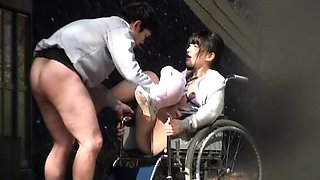 Horny oriental nurse endures jock in extra harsh xxx play