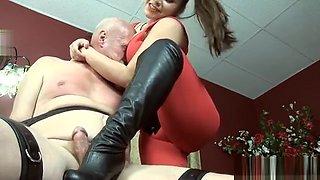 Hot Pornstar Domination With Orgasm