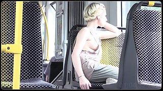 tram line 11 in dresden, saxony, germany